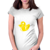Duck You Womens Fitted T-Shirt