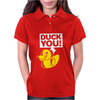 Duck You Womens Polo