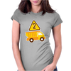 Dump Truck Womens Fitted T-Shirt