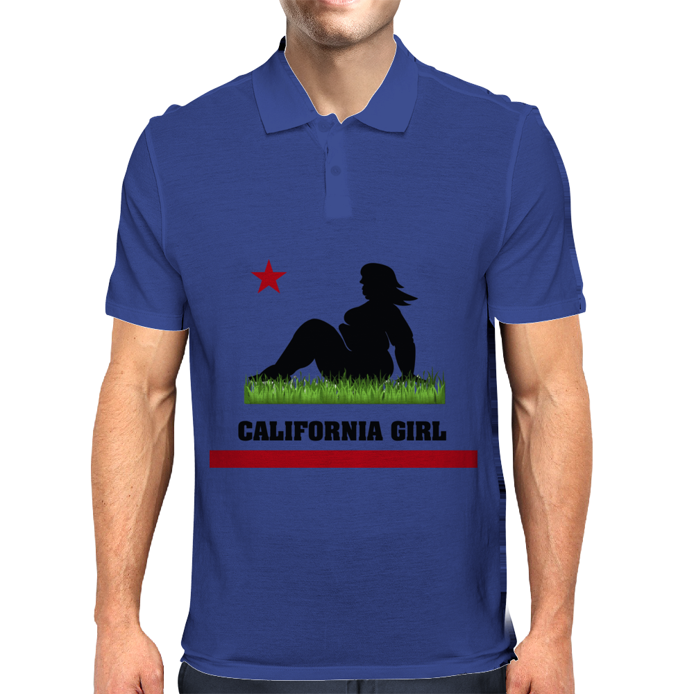 Dumptruck CA Girl Mens Polo