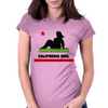Dumptruck CA Girl Womens Fitted T-Shirt