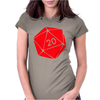 Dungeons & Dragons inspired Womens Fitted T-Shirt