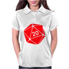 Dungeons & Dragons inspired Womens Polo