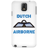Dutch Airborne Paratrooper shirt. Phone Case