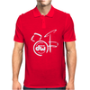 DW Drum Music Instrument Logo Mens Polo