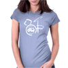 DW Drum Music Instrument Logo Womens Fitted T-Shirt