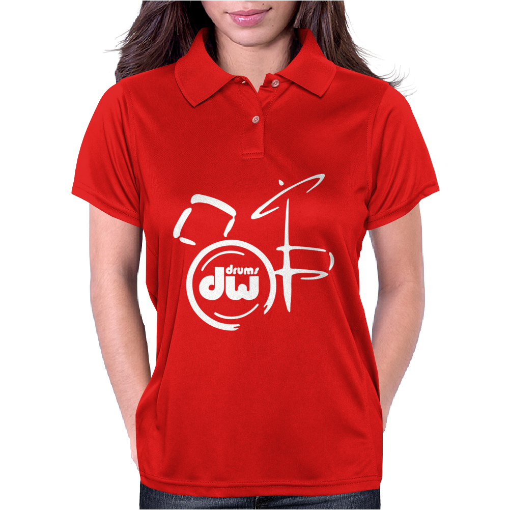 DW Drum Music Instrument Womens Polo