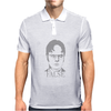 Dwight Schrute 'False' The Office Mens Polo