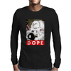 Eagle Dope Tshirt Astronaut Hipster Mens Long Sleeve T-Shirt