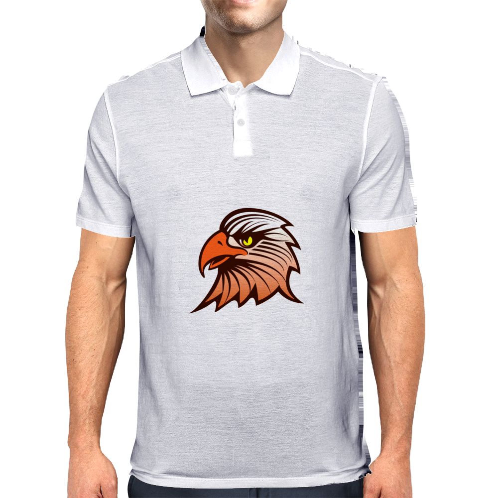 eagle head Mens Polo