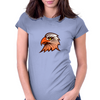 eagle head Womens Fitted T-Shirt