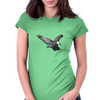 Eagle Womens Fitted T-Shirt