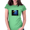 Eagles Head  Womens Fitted T-Shirt