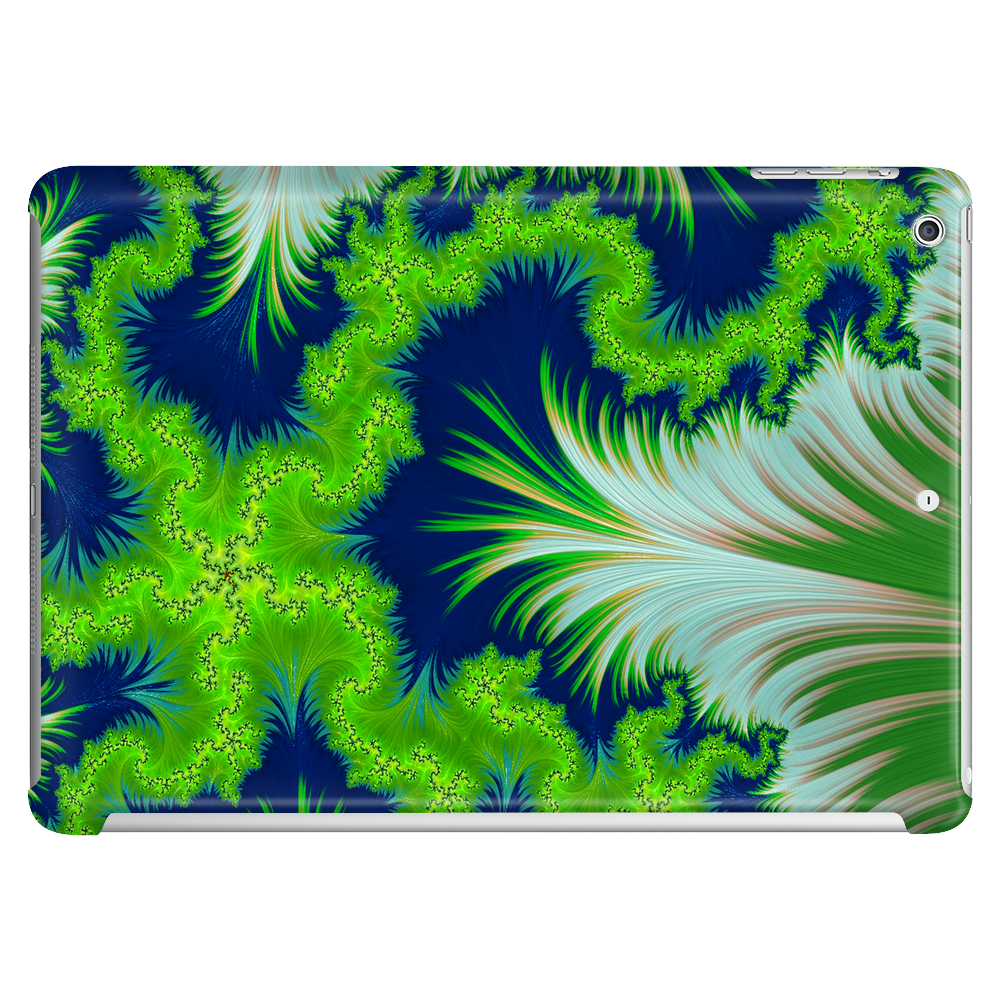 Earth Fractal Tablet (horizontal)