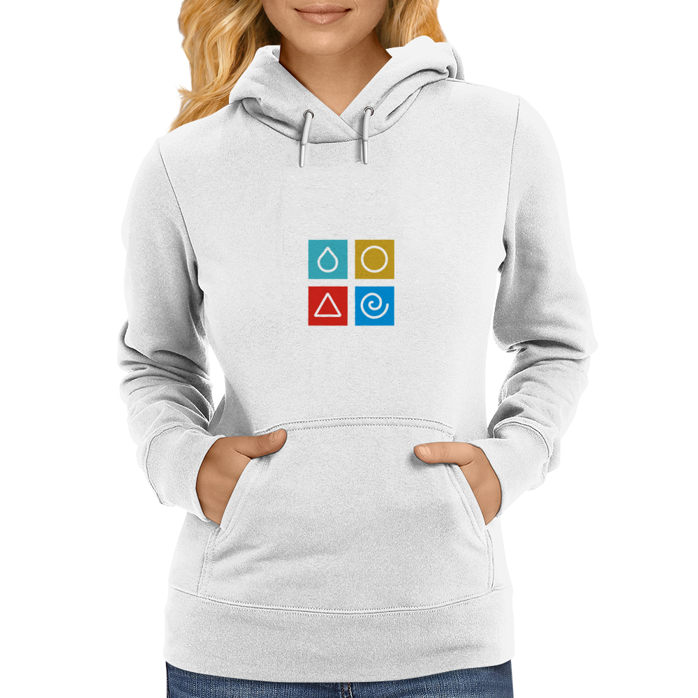 Earth, Water, Wind and Fire Womens Hoodie