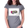 Earworm Womens Fitted T-Shirt