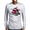 Easter Bunny Zombie Mens Long Sleeve T-Shirt