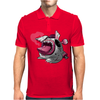 Easter Bunny Zombie Mens Polo