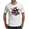 Easter Bunny Zombie Mens T-Shirt