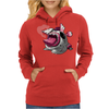 Easter Bunny Zombie Womens Hoodie