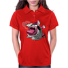 Easter Bunny Zombie Womens Polo