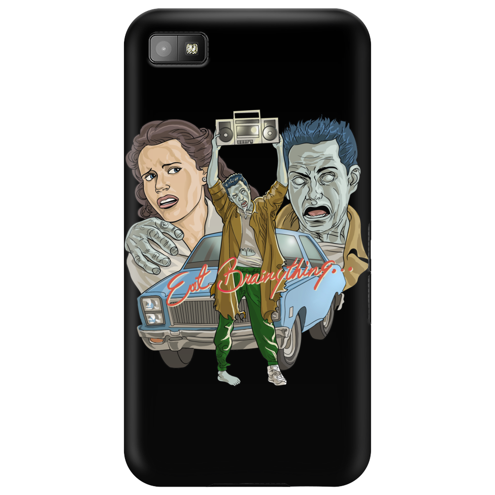 Eat Brainything from Zombie Love Phone Case