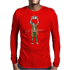 Eat Brainything Lloyd from Zombie Love Mens Long Sleeve T-Shirt
