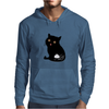 Eat my shit - cat Mens Hoodie