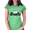 Eat-Sleep-Audi A1 Womens Fitted T-Shirt