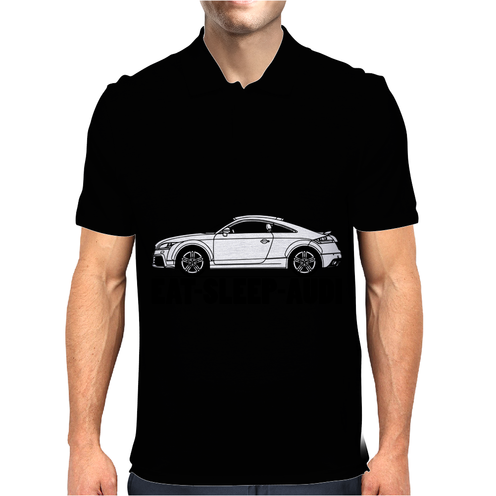 Eat Sleep Audi TT Mens Polo