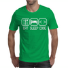 Eat Sleep Code Mens T-Shirt