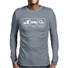 Eat Sleep Engineer Mens Long Sleeve T-Shirt