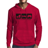 EAT SLEEP GAME Mens Hoodie