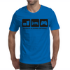 EAT SLEEP GAME Mens T-Shirt