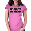 EAT SLEEP GAME Womens Fitted T-Shirt