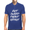Eat Sleep Paint Repeat Mens Polo