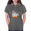 eat sleep qonquer Womens Polo