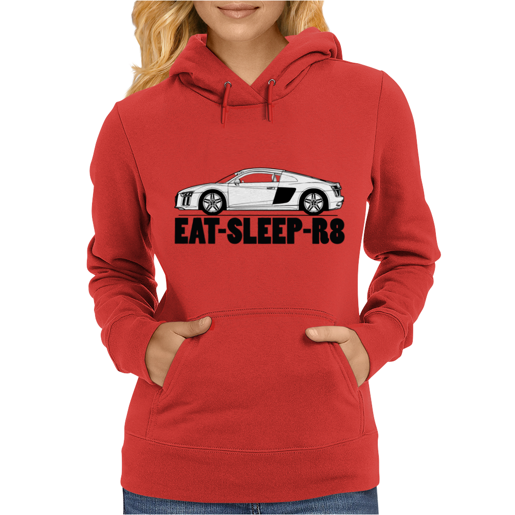 Eat-Sleep-R8/R10 Womens Hoodie