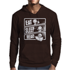 Eat Sleep Read Mens Hoodie
