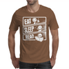 Eat Sleep Read Mens T-Shirt