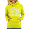 Eat Sleep Read Womens Hoodie