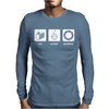 Eat Sleep Science Mens Long Sleeve T-Shirt
