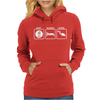 Eat Sleep Scuba Dive Womens Hoodie