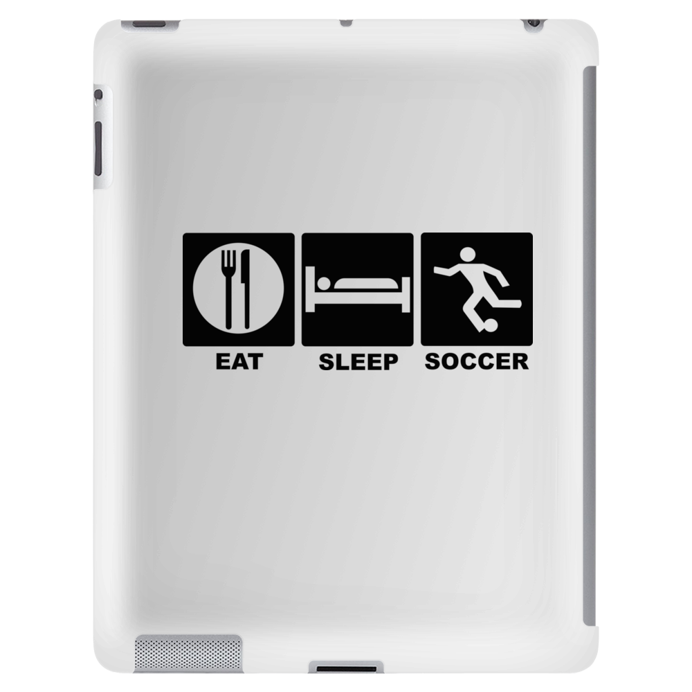 eat, sleep, soccer, repeat Tablet