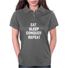 EAT SLEEP Womens Polo