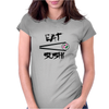Eat Sushi Womens Fitted T-Shirt