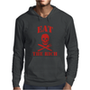 Eat The Rich Mens Hoodie