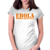 EBOLA WORLD TOUR funny Womens Fitted T-Shirt