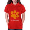 Ed Sheeran Paw Womens Polo