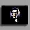 Edgar Allan Poe by Rouble Rust Poster Print (Landscape)